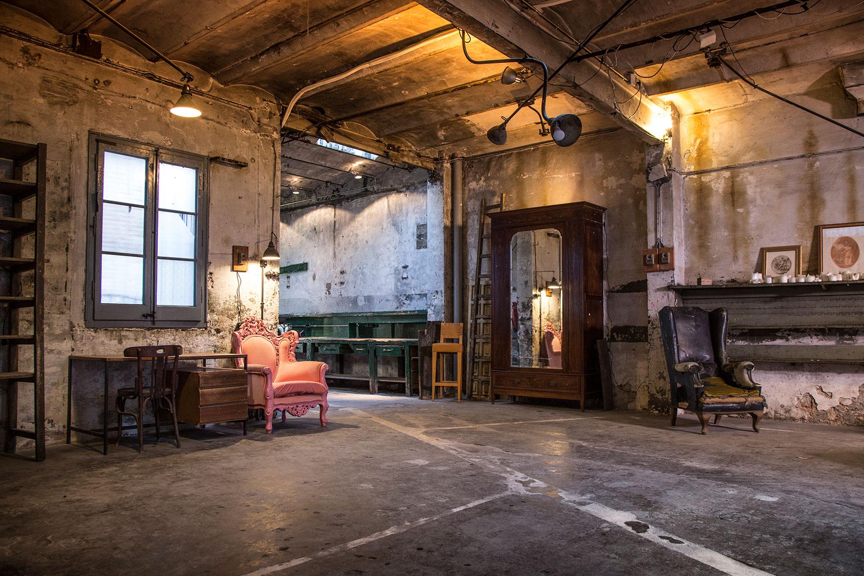 old workshop barcelona location for film barcelona shoot estudios